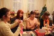 Подготовка к празднику в Мастерской Деда Мороза