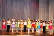 Вокальный коллектив «Капельки» выступил на конкурсе хорового пения